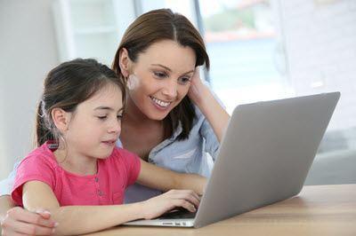 Børn sikkert adfærd på nettet